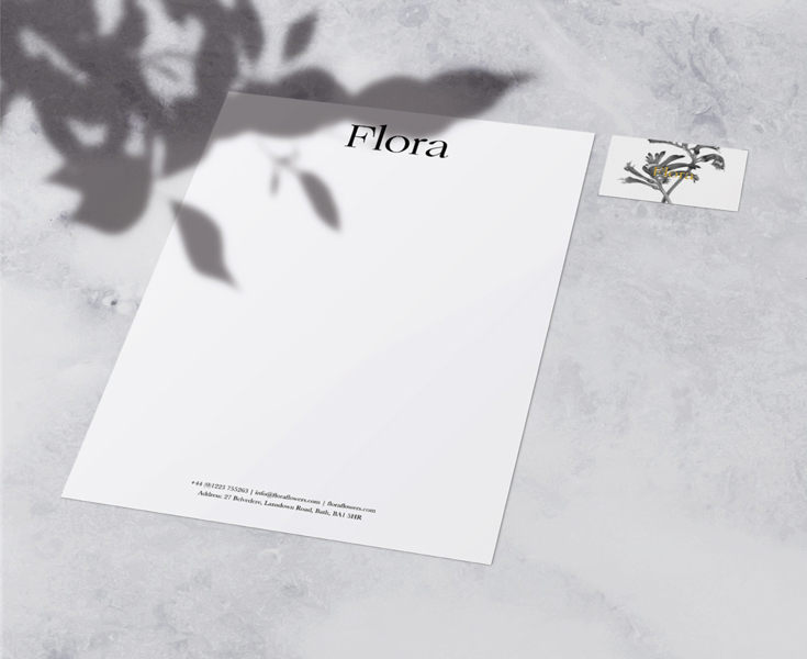 flora stationary set