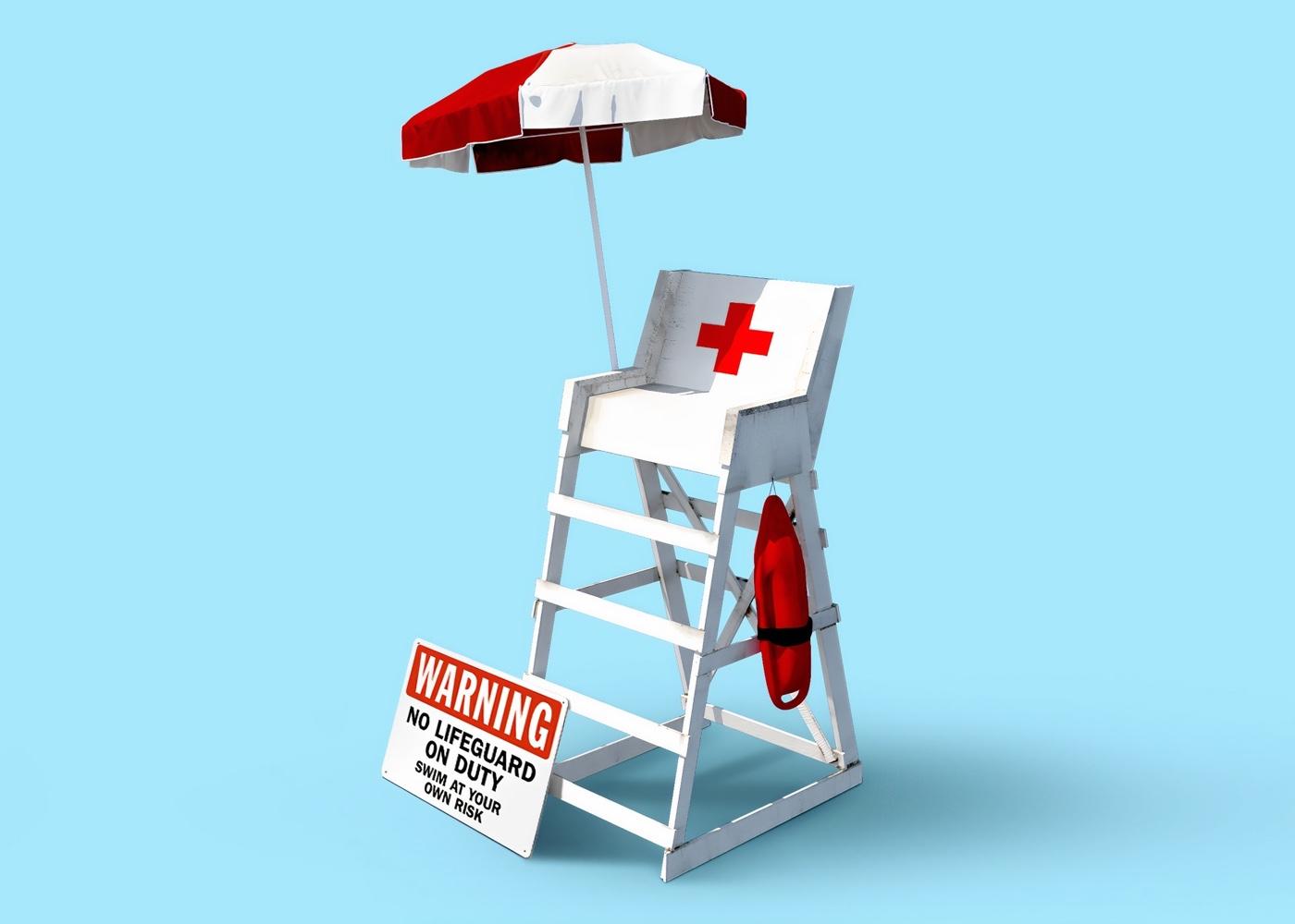 Lifeguard Hochsitz