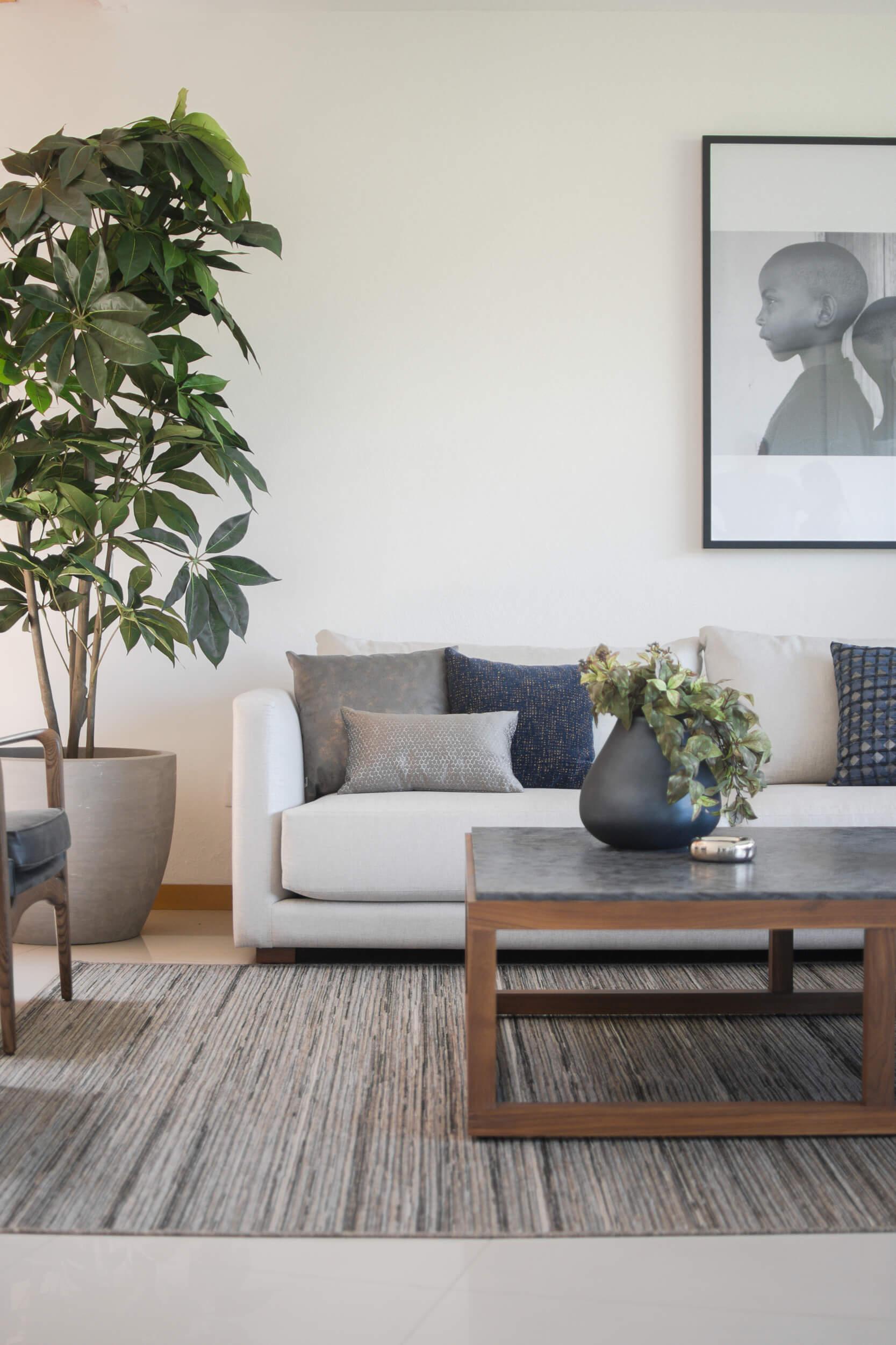 Casa con diseño de interiores
