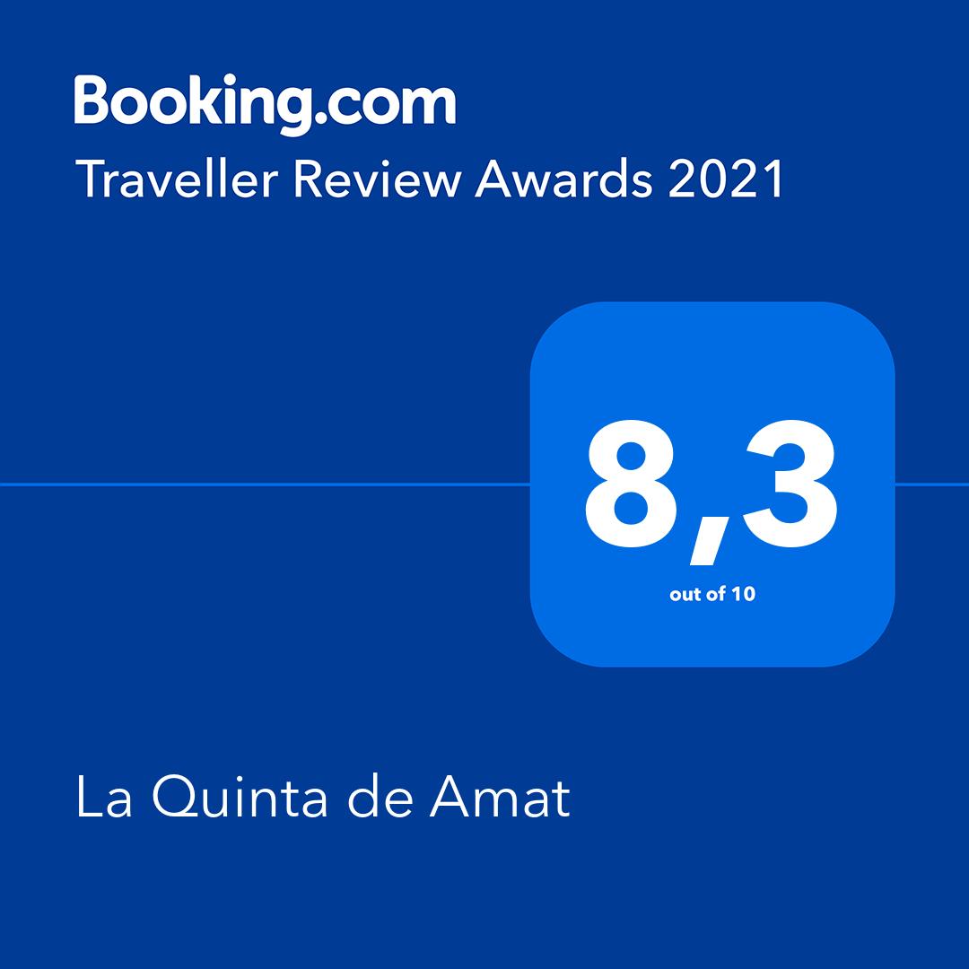 Booking Awards 2021 8,3
