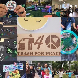 Story Kitchen Event with Trash for Peace