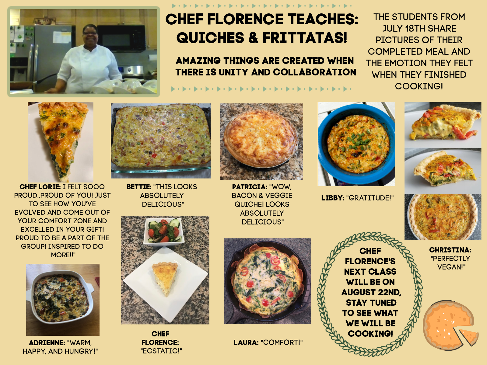 Flo's Cooking Class
