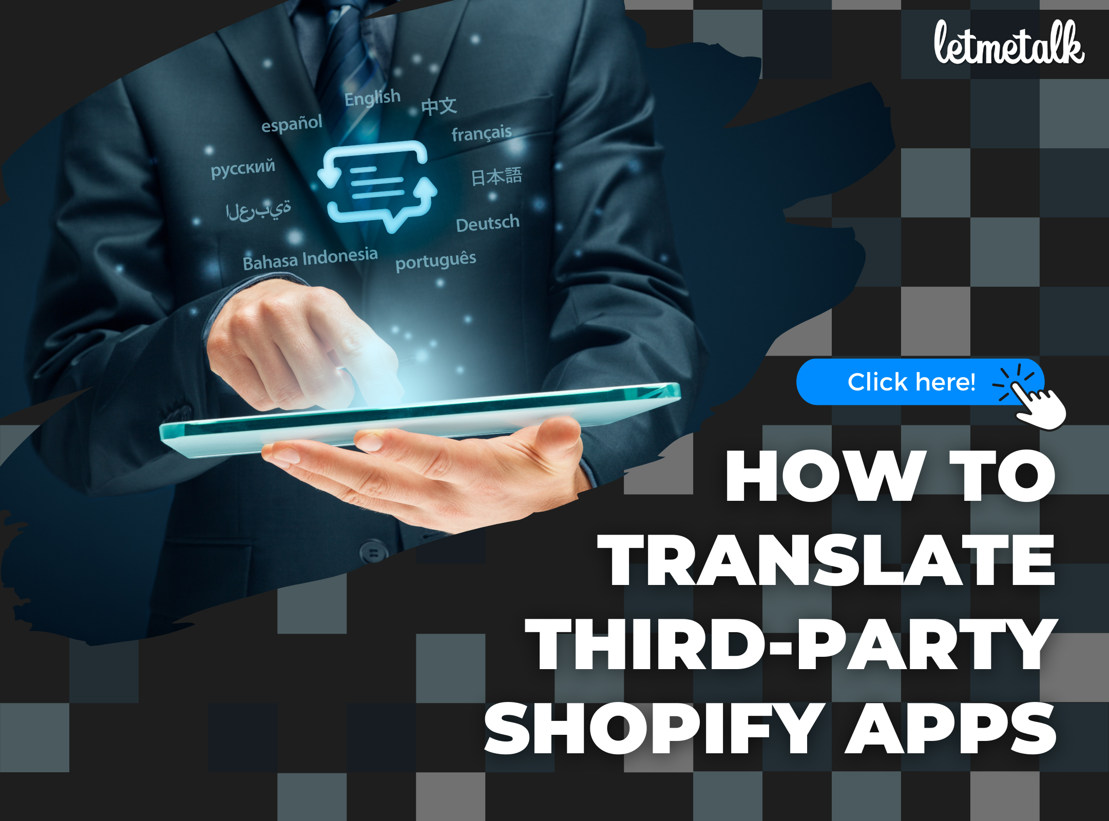 How To Translate Third-Party Shopify Apps | Letmetalk