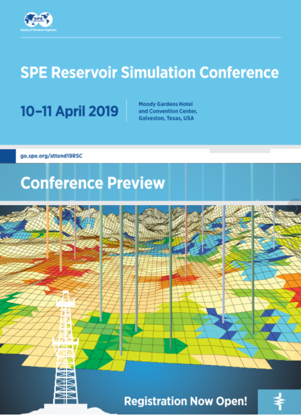 Hector Klie chairs the SPE Reservoir Simulation Conference 2019