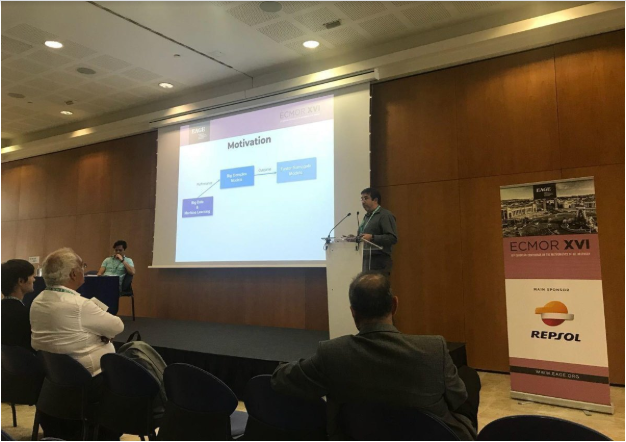 DeepCast.ai presents at ECMOR XVI, Barcelona, Spain.