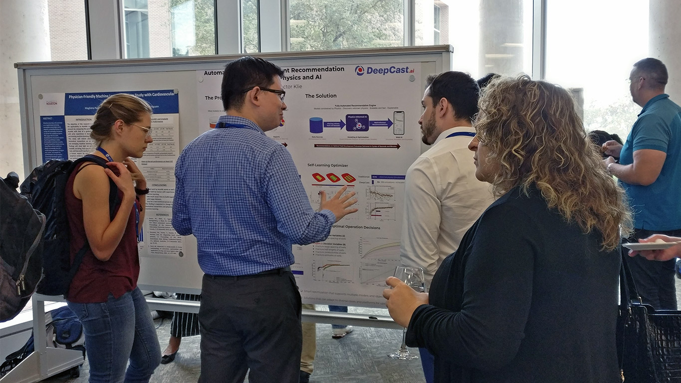 DeepCast Presents Poster at the 2019 Rice Data Science Conference