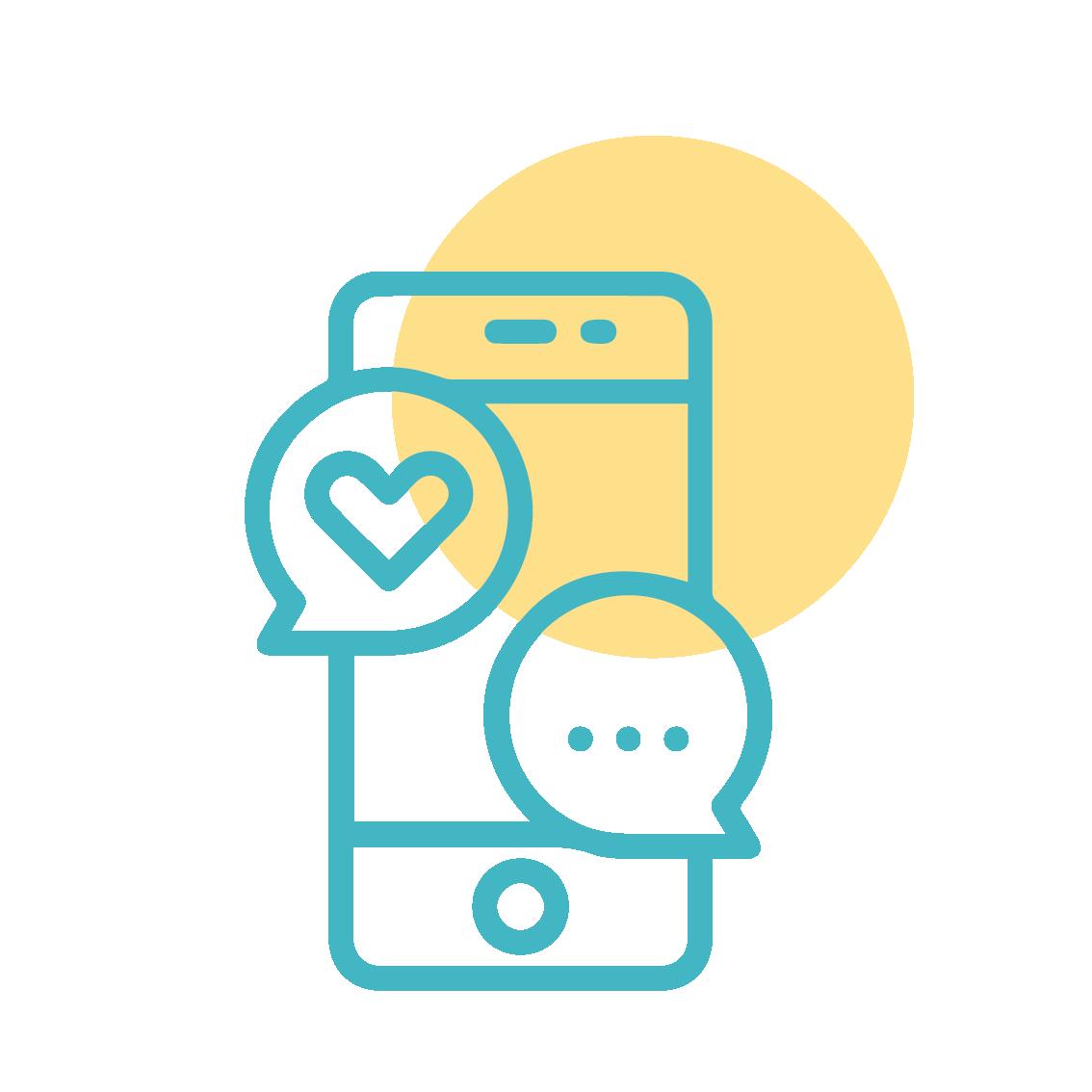 Social Media Icon illustration