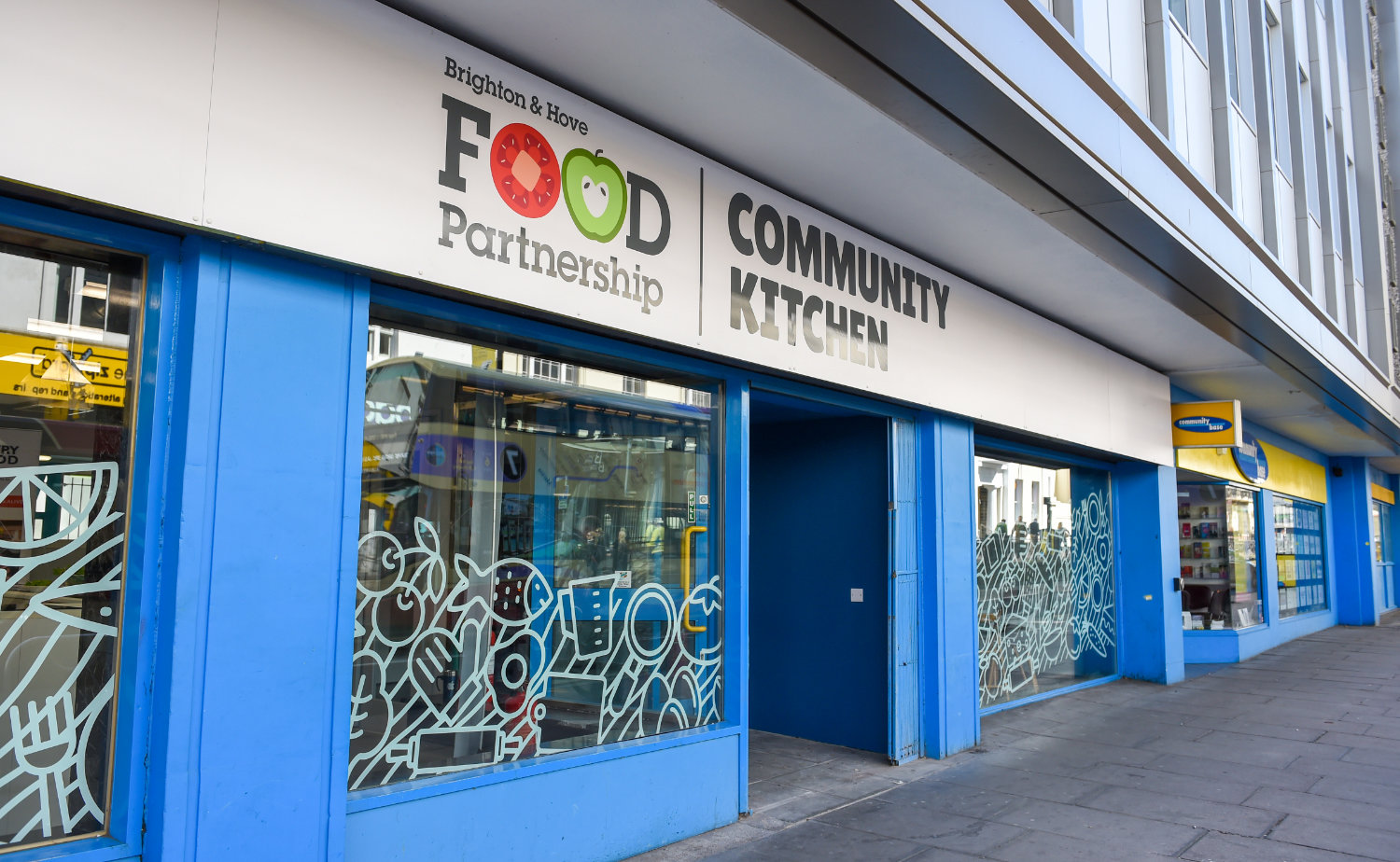 Brighton and Hove Food Partnership, Queens Road, Brighton