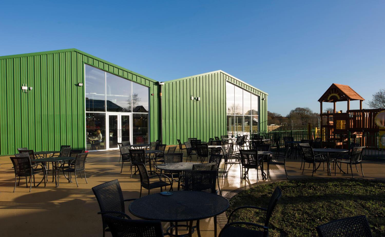 External photo of Notcutts Garden Centre