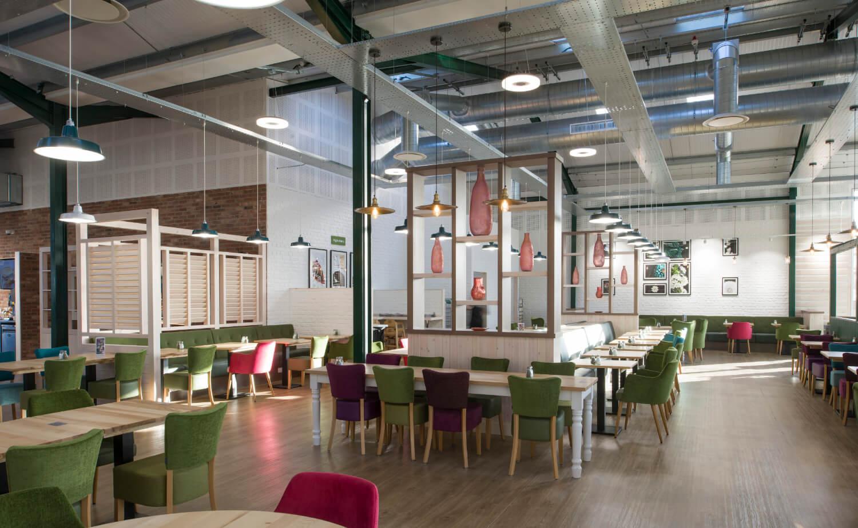 Notcutts Restaurant Interior