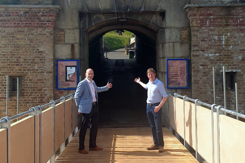 Newhaven Fort re-opens with £1.2m of improvements