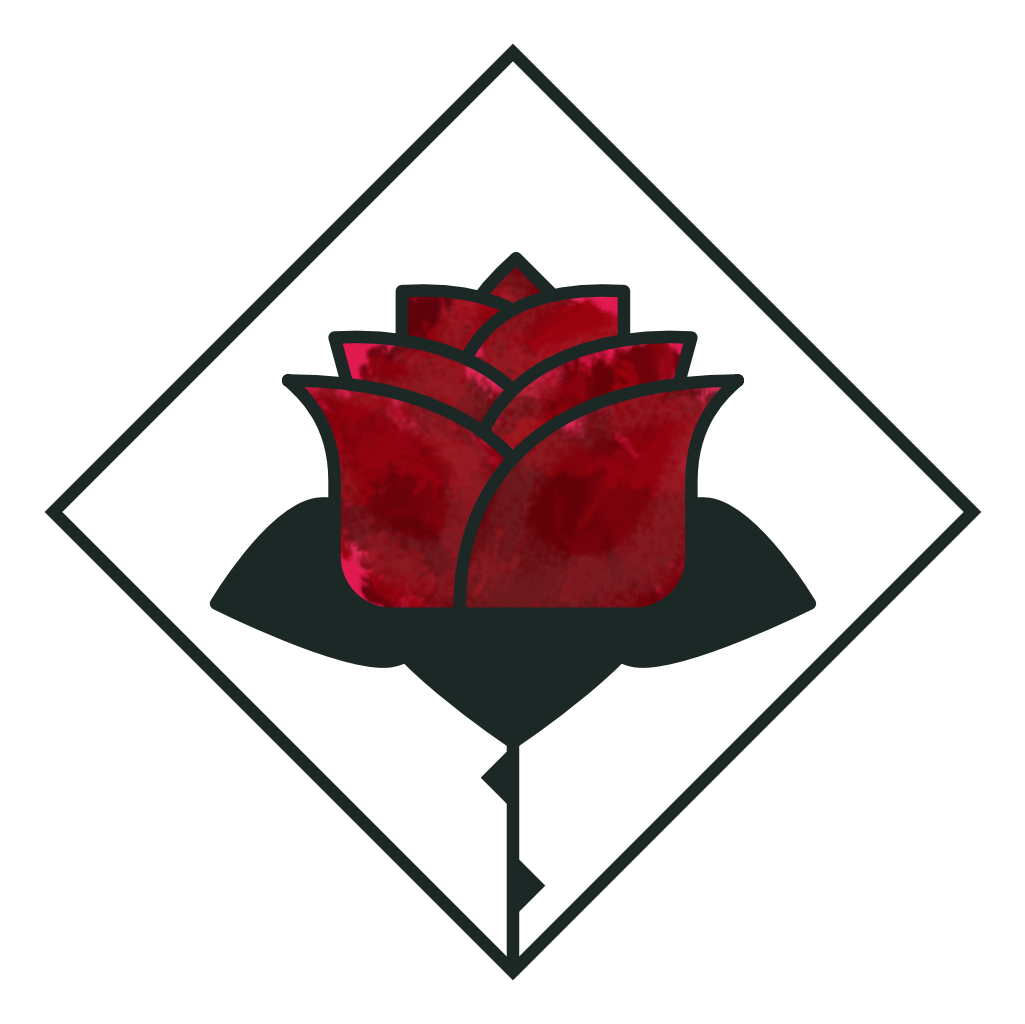 Roses as Humans Logo