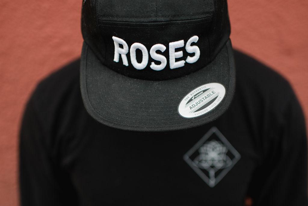 Five Panel Roses Cap
