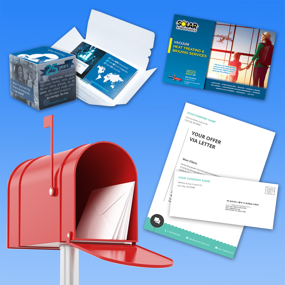 Multichannel Direct Mail Print Products