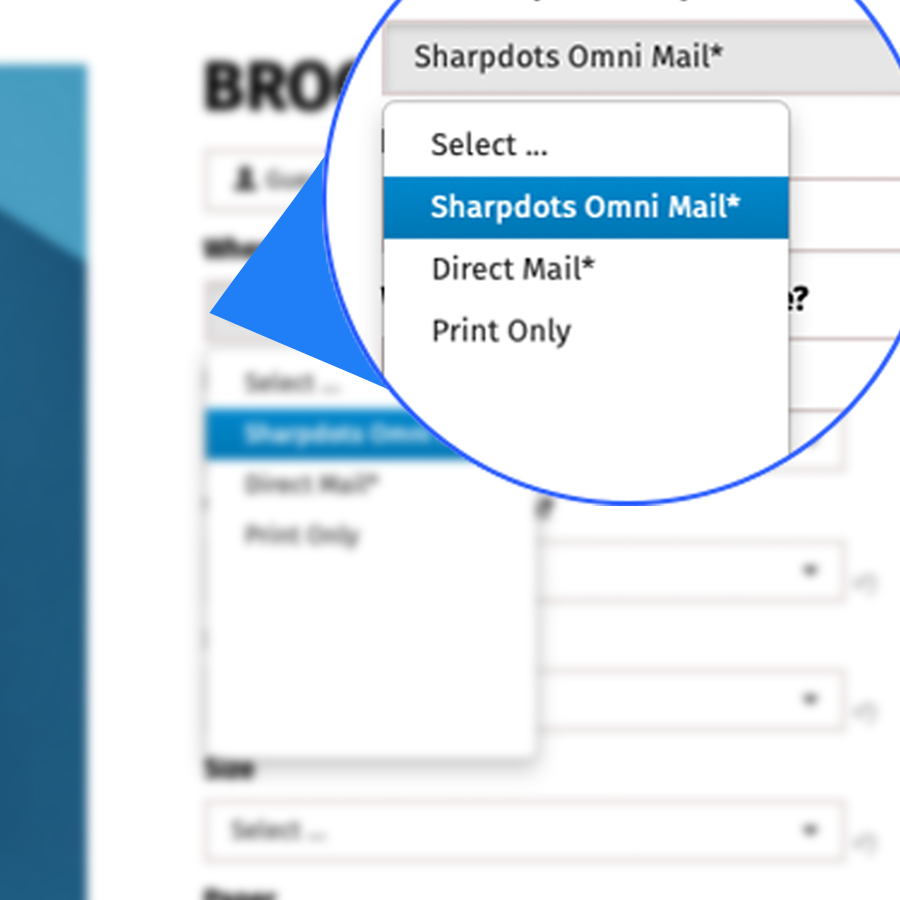 Sharpdots Omni Maill product selection