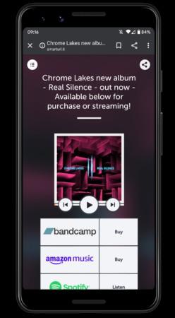 chrome lakes mobile site