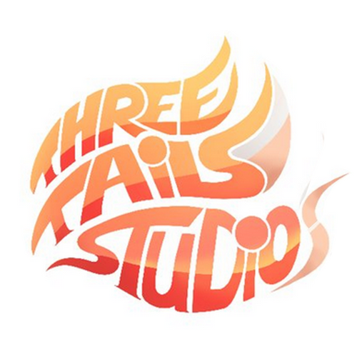 Logo of the game development team Three Tails Studio