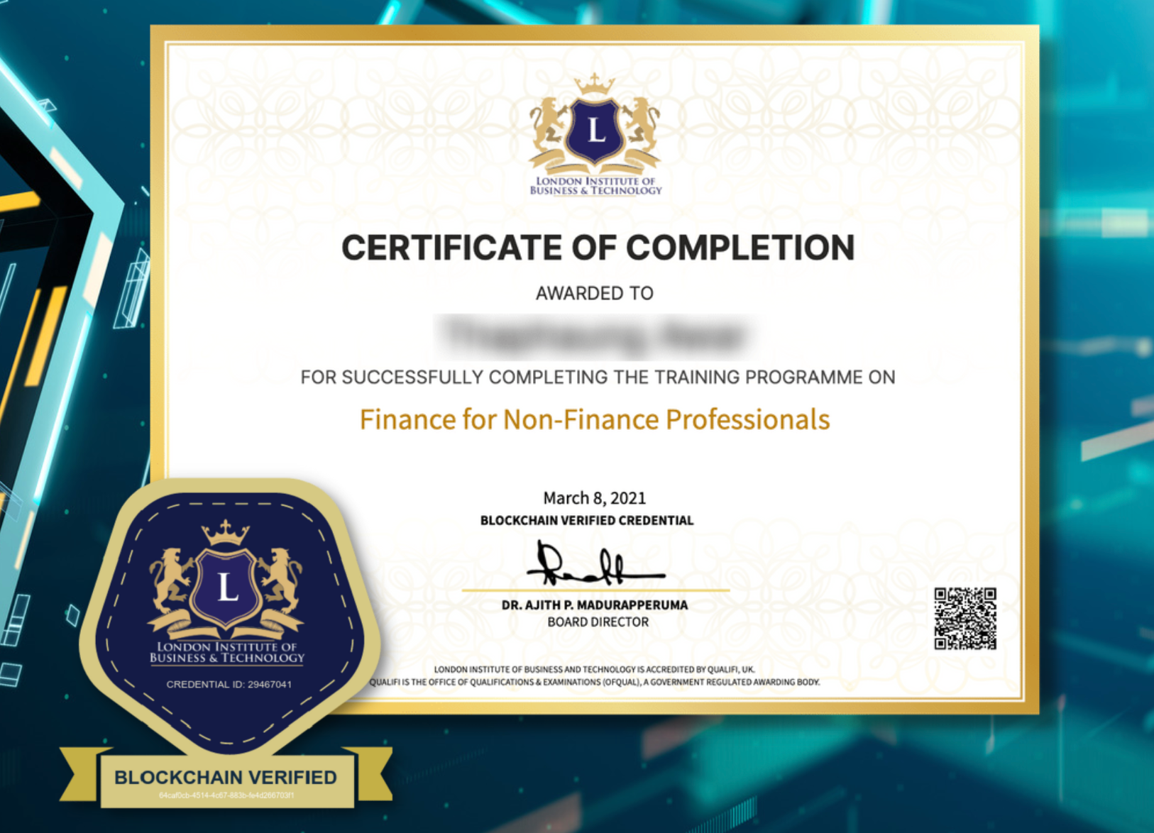 LIBT Launches Blockchain-based Certification To Counter Academic Fraud