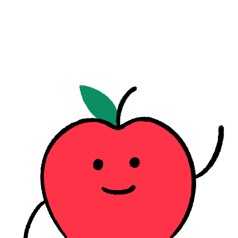 Apple is waving