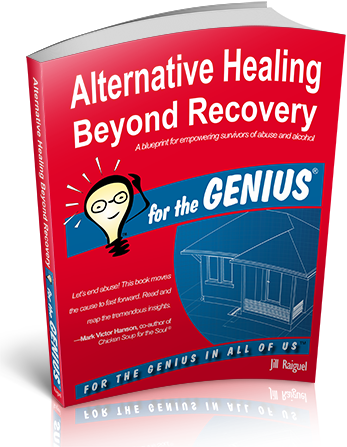 Book Cover - Alternative Healing Beyond Recovery