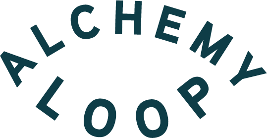 Alchemy Loop Eye Logo