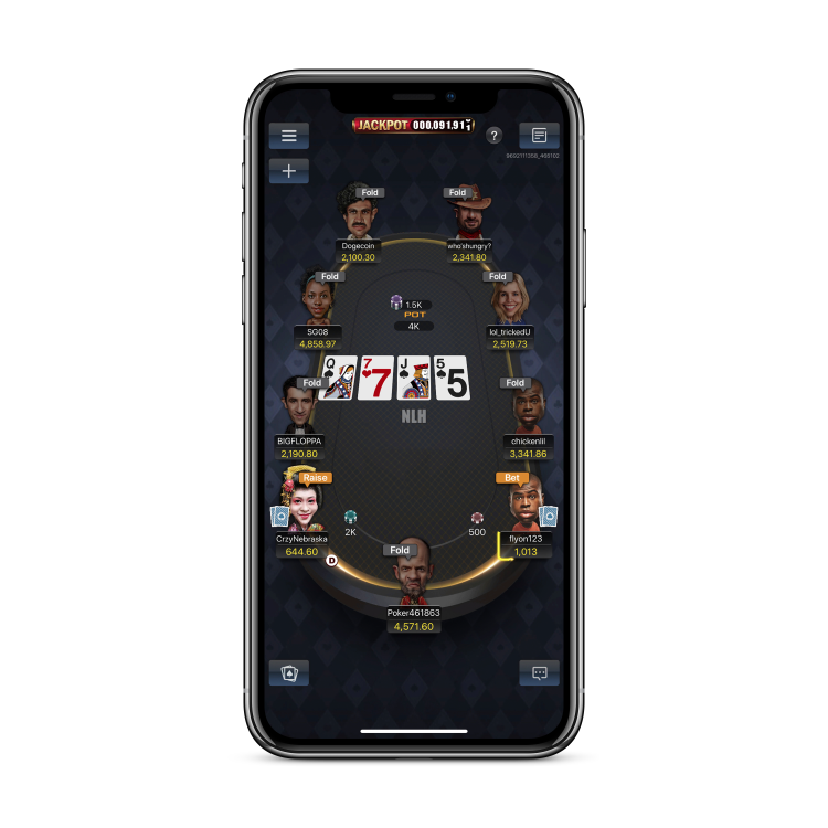 Poker Games for IOS & Android