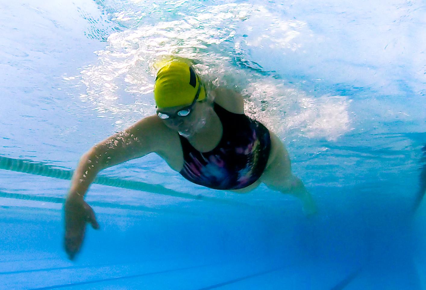Plavkyně kraulu (autor: HappySwim)