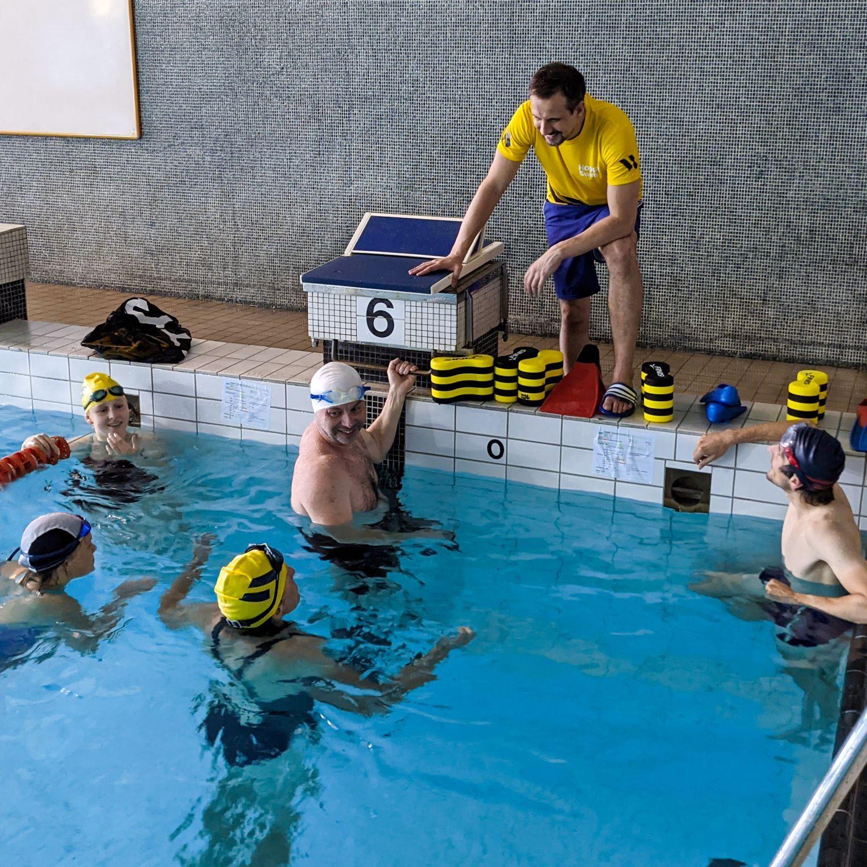 Happy Swim Group Swimming