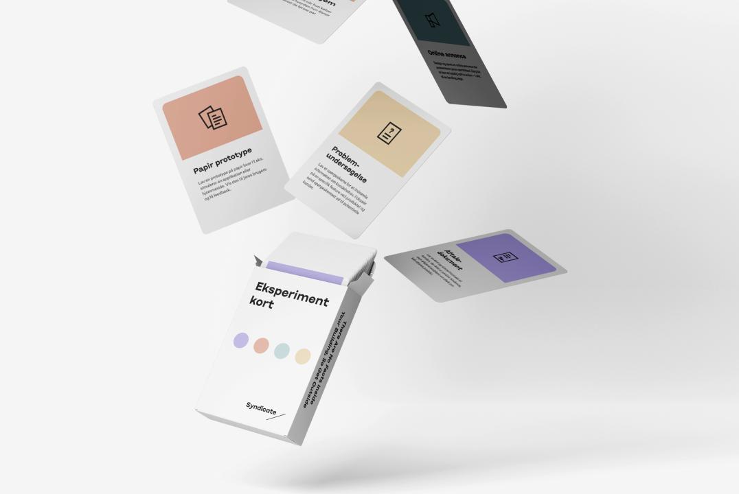 Prøv et gratis sæt eksperimentkort til at supplere product discovery