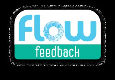 Flow feedback logo