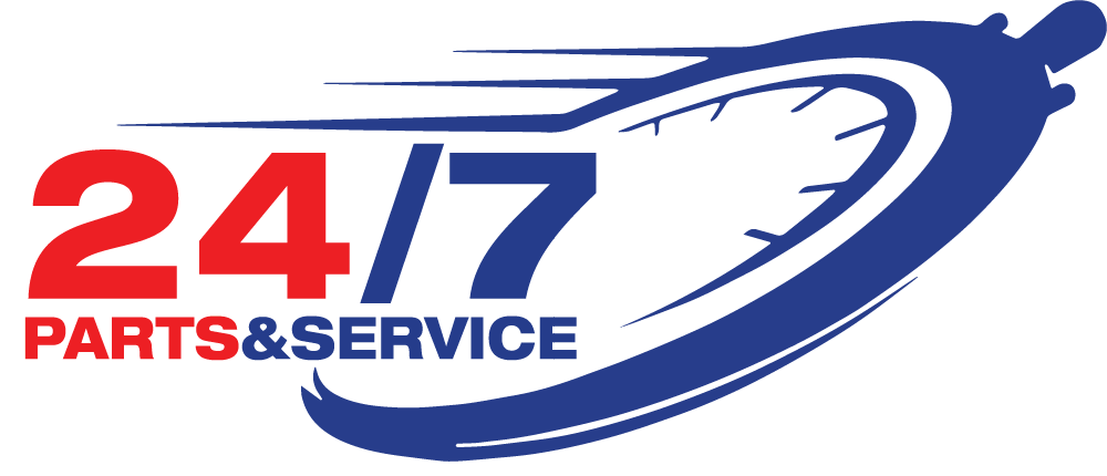 24/7 Parts & Service Logo