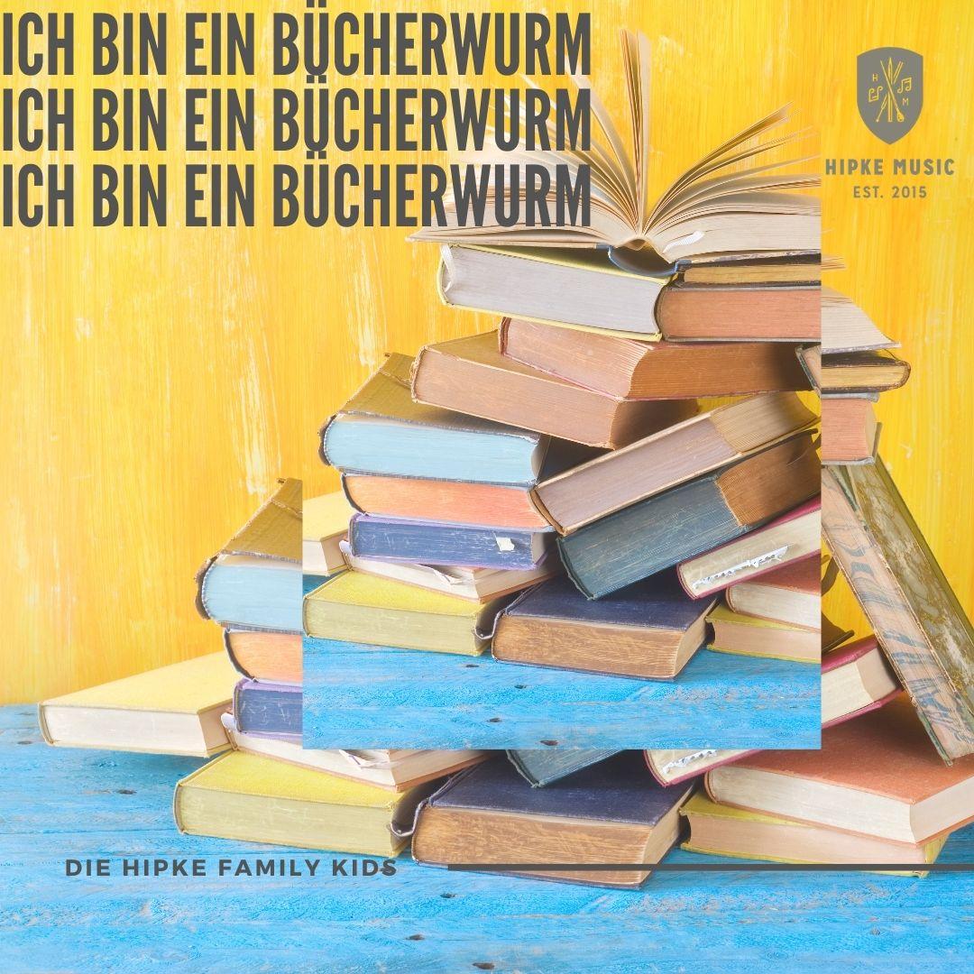 Ich bin ein Bücherwurm