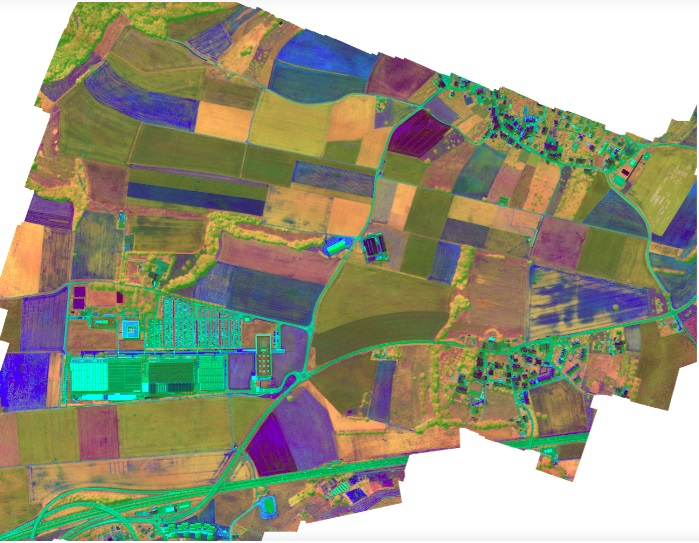 hyperspectral imaging agriculture