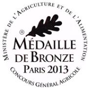 médaille de bronze en 2013