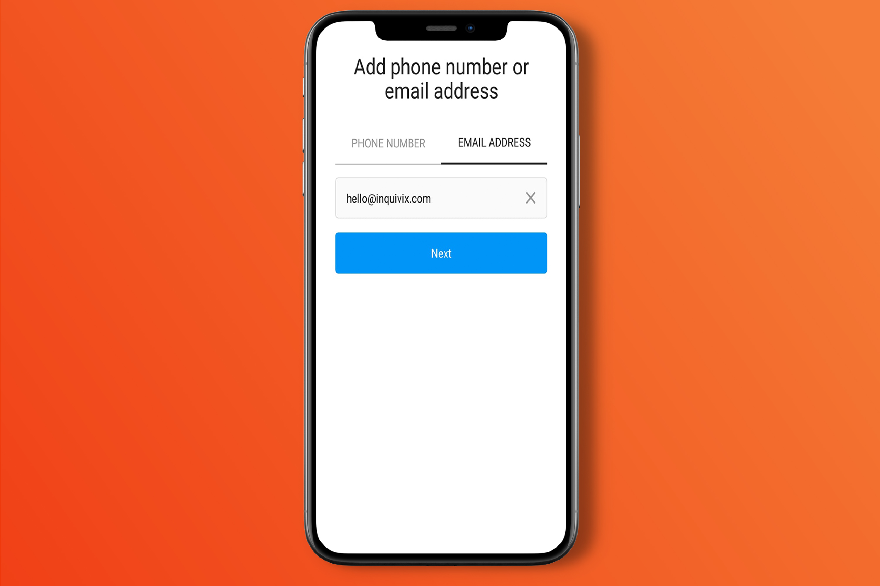 Create Your Account Using Your Business's Email Address
