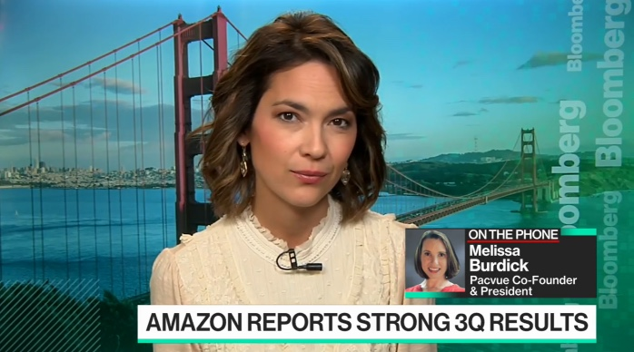 Bloomberg interview: Takeaways from Amazon's Earnings Report