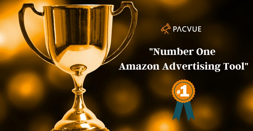 Pacvue Ranked as #1 Amazon PPC Tool for Advertising