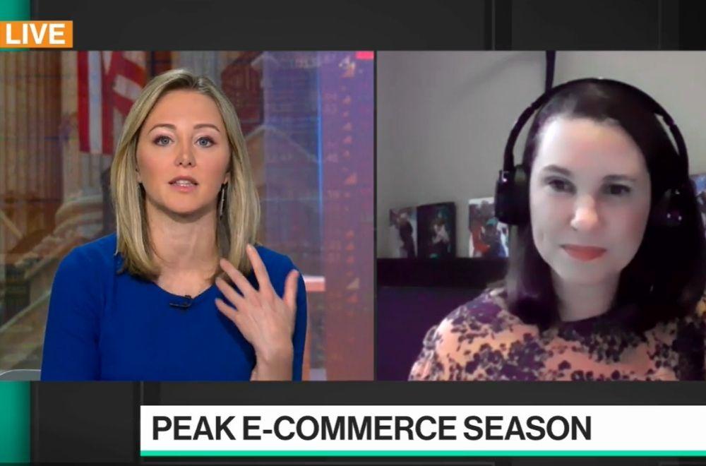 Bloomberg Technology Interview: Black Friday & New Shopping Behaviors