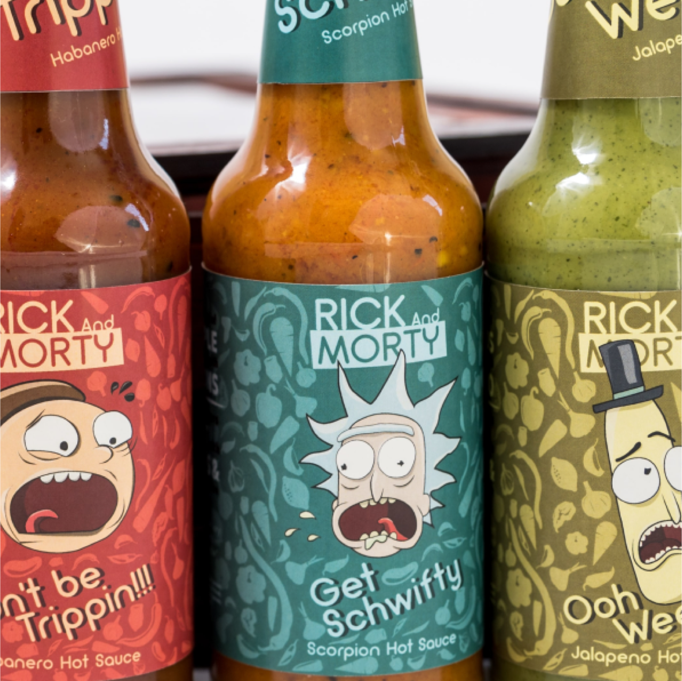 Rick and morty -  Brand packaging project
