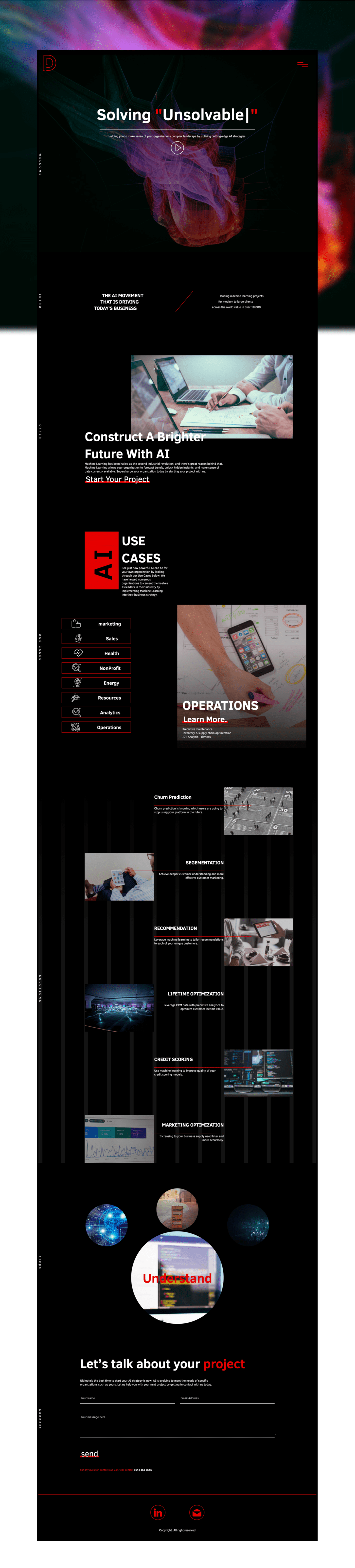 Full Height image of the Website home-page.