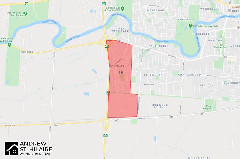 MLS® Map Winnipeg for 1H Area