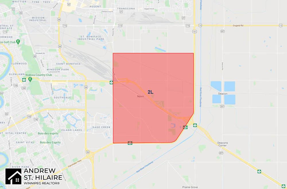 MLS® Map Winnipeg for 2L Area