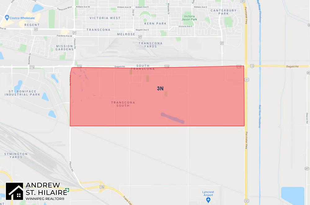 MLS® Map Winnipeg for 3N Area