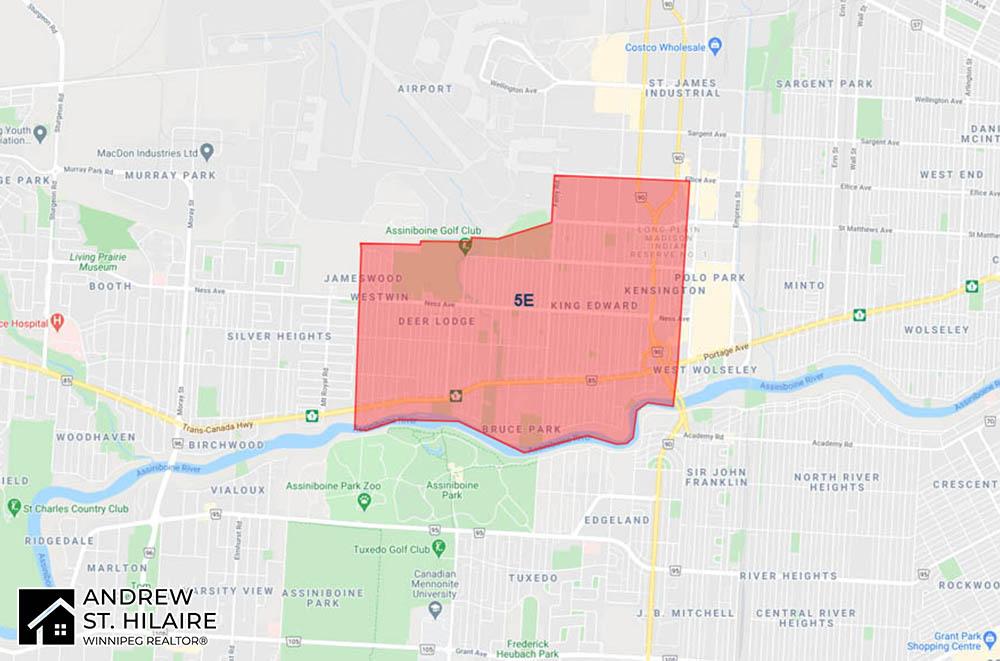 MLS® Map Winnipeg for 5E Area