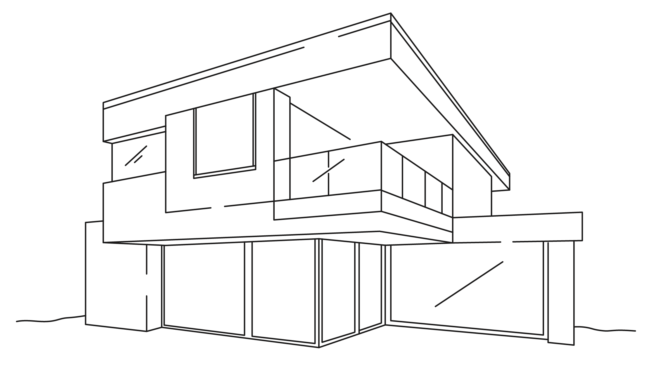 Granted Constructions - Completely Custom Home - Illustration