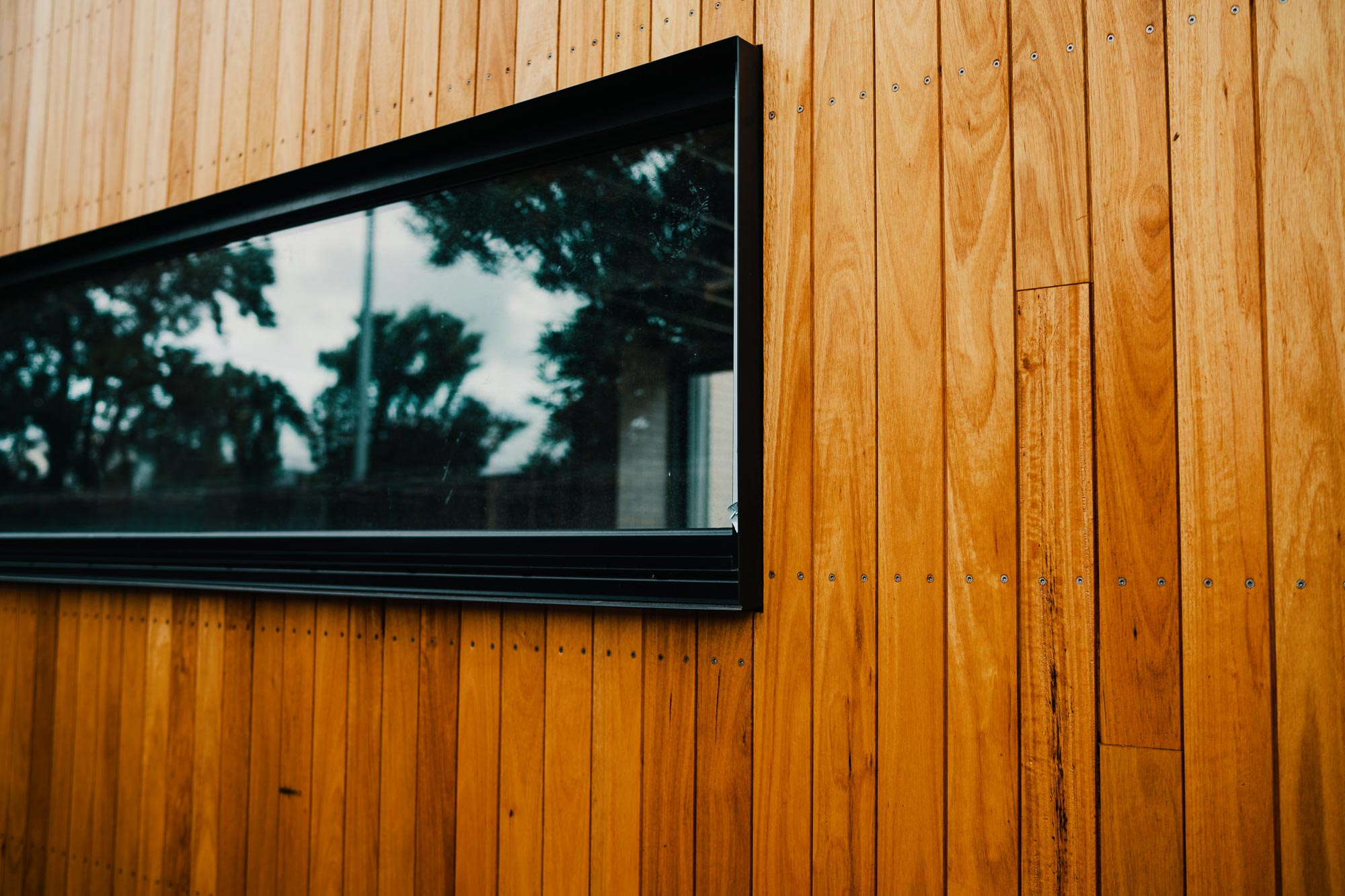 Granted Constructions - Melbourne - Wooden Exterior and Window Frame