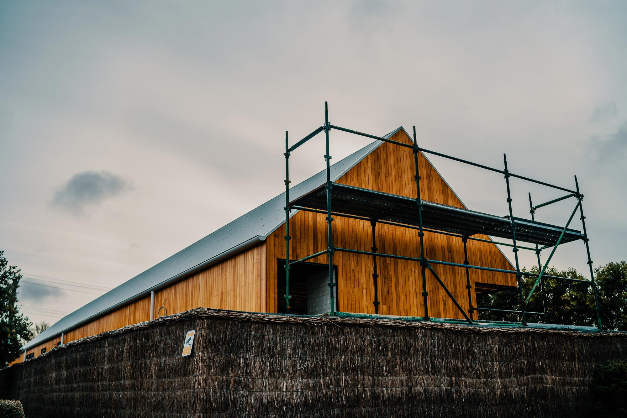 Granted Constructions - Melbourne - Building Process - Wooden Exterior - Peaked Roof