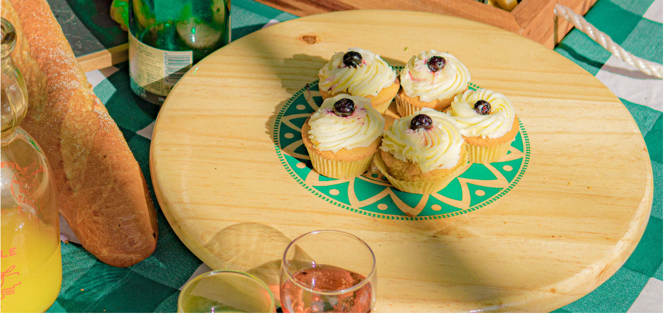 Dame Keki's blueberry cup cakes, a win for your every season
