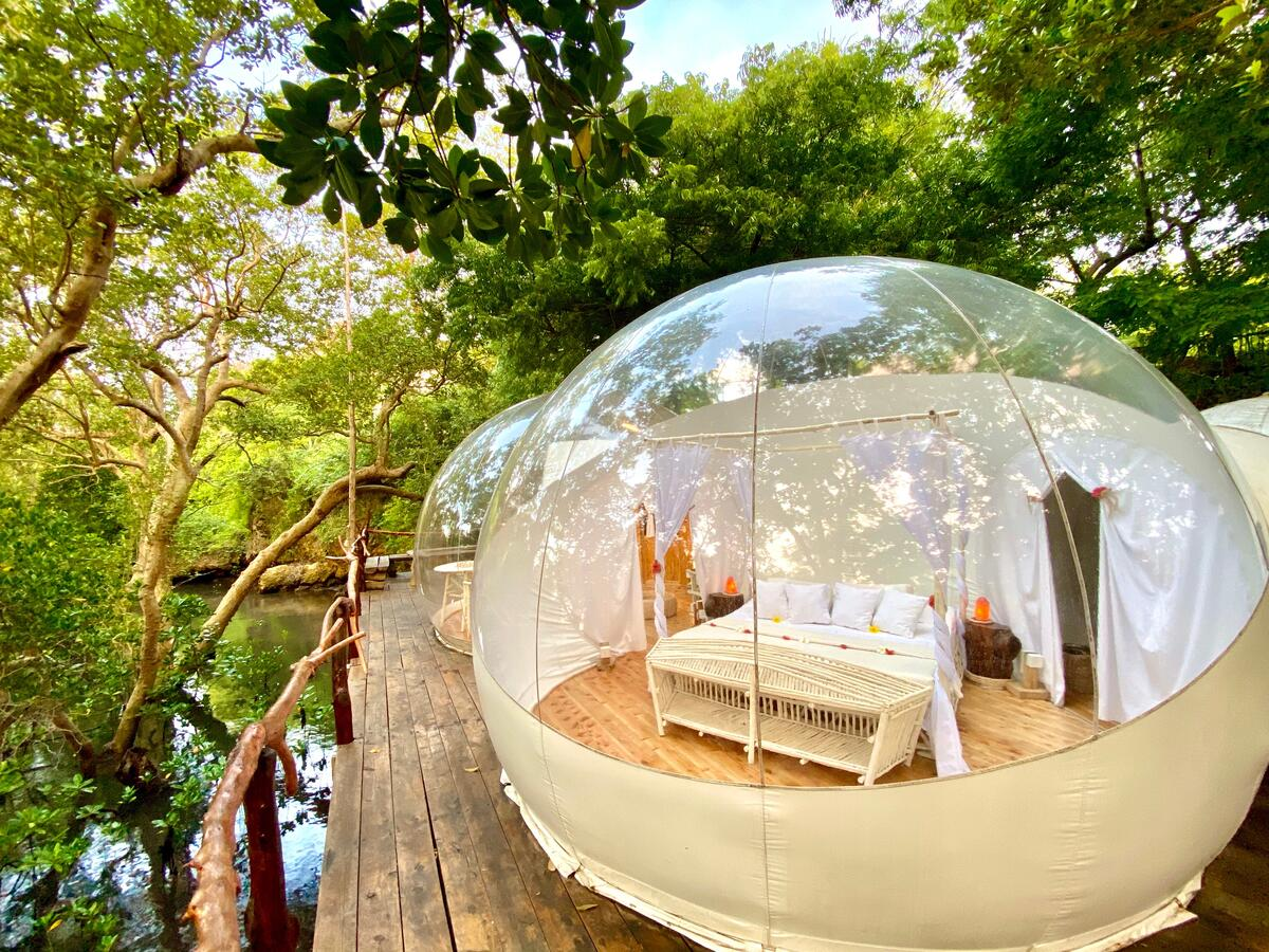 The festive season is here, we are going glamping