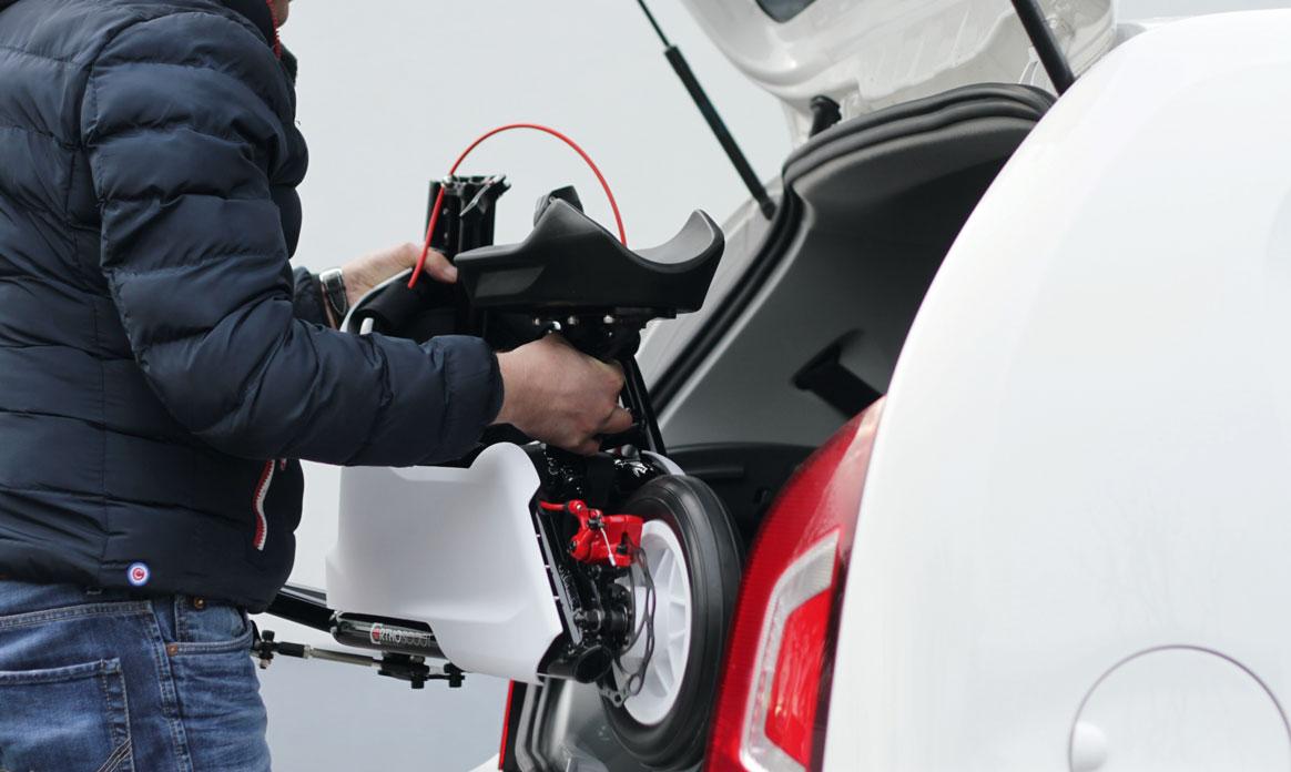 Werkzeugloser Auf- & Abbau und leichter Transport